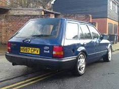 Escort estate ford diesel