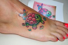 32 Lively Turtle Tattoos | Creative Fan