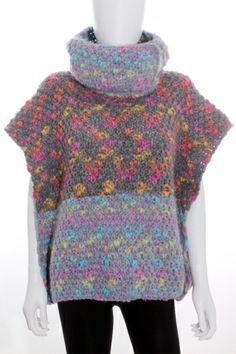 Jersey/Poncho Mujer de Ocasión  - Hecho a Mano lana talla única
