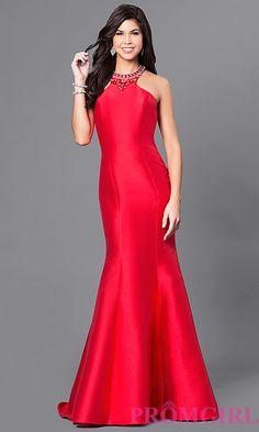 Dress under $100 TrumpetSkirt open back long prom dress