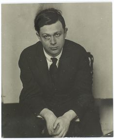 Birthday of the sad Romanian country boy - Dada originator, Tristan Tzara, born Samuel Rosenstock; April 161896 - 1963… Tzara took a long walk from Romania to Paris in 1919 and settled there to make his mark. He debated vigorously against his fellow Dadaists and Surrealists, until he finally sided with Breton, not least because of their shared belief in automatic writing as a true expression of the unconscious andfantastic… Photo: Man Ray, 1924