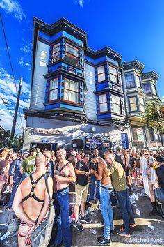 Crowd Folsom Street Fai , San Francisco By Mitchell Funk   mitchellfunk.com