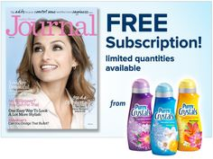 Win a FREE subscription to Ladies Home Journal from Purex Crystals!