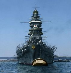Nagato (長門), named for Nagato Province, was a dreadnought battleship built for the IJN during the 1910s, and was the flagship of Admiral Isoroku Yamamoto during the attack on Pearl Harbor. She was attacked in July 1945 as part of the American campaign to destroy the IJN's last remaining capital ships, but was only slightly damaged. In mid-1946, the ship was a target for nuclear weapon tests during Operation Crossroads. She was sunk by the second test..!