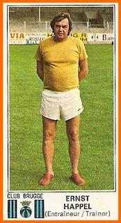 Ernst Happel (Trainer) 15-Happel Panini Bruges 1976