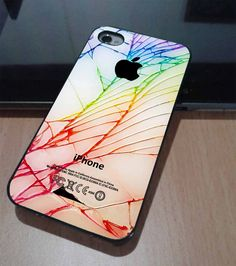 CRACKED OUT iPHONE - iPhone 4 Case, iPhone it actually looks quite cool