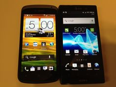 HTC One S vs. Sony Xperia Ion @TMobile #4GLife @Attmobilereview
