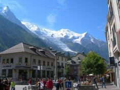 Chamonix.............lots of happy memories and great skiing and this fabulous French Ski town.