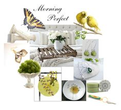"""""""Morning Perfect"""" by inspiredbyten ❤ liked on Polyvore featuring vintage"""