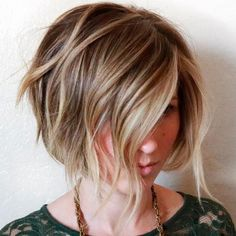 Easy And Pretty Bob Haircuts That Make Your Fine Hair Fuller 13