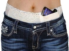 Hidden Heat Lace-Ladies Lace Waistband Concealed Carry Gun Holster
