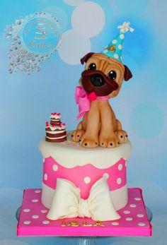 Sweet Puppy Cake by Beata Khoo