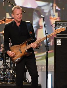 Sting Photos Photos - Recording artist Sting performs during the 2016 NASCAR Sprint Cup Series Awards show at Wynn Las Vegas on December 2, 2016 in Las Vegas, Nevada. - NASCAR Sprint Cup Series Awards - Show