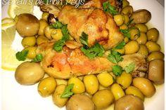 Poulet/olives/champignons en sac de cuisson