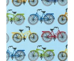 Everyday Favorites Bicycles Vintage by Mary Lake-Thompson for Robert Kaufman Fabrics bike cotton novelty fabric Textile Patterns, Sewing Patterns, Decoupage, Beach Quilt, Quilting Room, Robert Kaufman, Heirloom Sewing, Quilt Kits, Fabulous Fabrics
