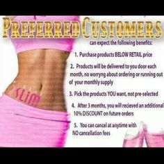 Get your Plexus products for less!   Shop now and select Preferred Customer pricing from my site!  No long term commitment!  Call and cancel any time (and don't forget the 60-day Money Back Guarantee!) www.plexusslim.com/jenthrasher