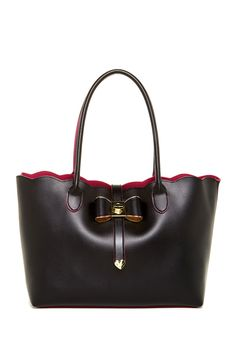 Extra Baggage Scallop Open Tote with Removable Bag by Betsey Johnson on @nordstrom_rack