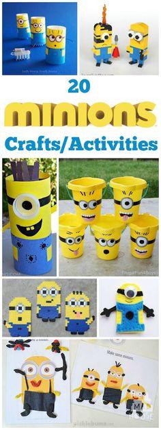 20 Minion activities