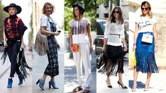 How To Wear Fringe This Spring. If ancient civilizations did it, you can too.