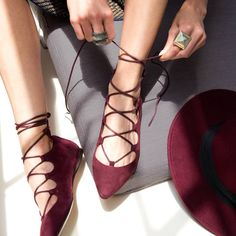 Lacing up for the long weekend. #ninewest