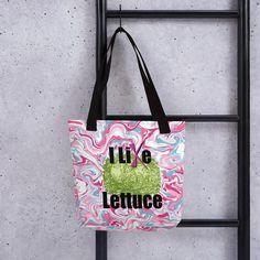 Tote bag - I Like Lettuce