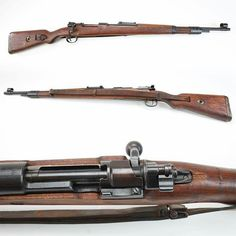 "GUN OF THE DAY - Steyr K98k Rifle During the Second World War, German military forces were armed with rifles manufactured by a variety of contractors across Europe. An Austrian version of the Mauser 98k carbine, these arms were produced at Steyr, Austria after Germany had taken over that country. Other rifles produced at the Steyr factory during this period marked with the Steyr WWII 660 code were also marked as ""L"" for Luftwaffe, or ""M"" for Navy utilization. Caliber: 7.9mm Production Dates:"