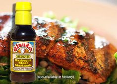 Add a great smokey flavor to your salmon!