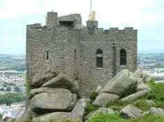 Carn Brea (Cornish: Karnbre) is a hilltop site near Redruth, Cornwall Modern Gothic, My Settings, Castles In England, Seaside Village, 14th Century, Cornwall, Places Ive Been, Roots, Beautiful Places