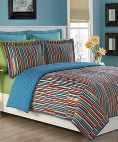 Take a look at this Blue & Red Taos Quilt Mini Set today!