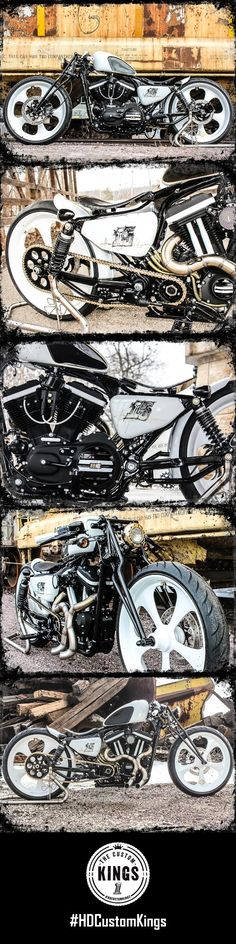 Boadtracker Harley-Davidson puts a modern touch on the vintage boardtracker style. | Harley-Davidson #HDCustomKings