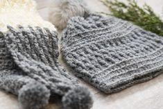 Alpaca Squishy Pom Beanie Crochet Hat Pattern – Mama In A Stitch Crochet Infinity Scarf Free Pattern, Crochet Triangle Scarf, Easy Crochet Hat, Crochet Beanie Pattern, Crochet Scarves, Free Crochet, Crochet Patterns, Hat Patterns, Crochet Ideas