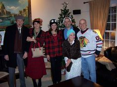 Host a National lampoons Christmas party! The food, costumes, deco, etc, FUNNNN!!!
