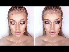 Glittery Gold Greek Goddess/ Fairy Makeup Tutorial - YouTube
