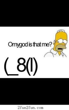 Is that me ... Homer Simpson funny cartoon crossover