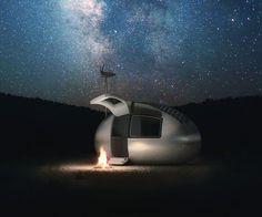Portable Self Sustaining Capsule House