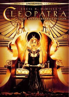 Cleopatra (1934)~Women should be but toys for the great. It becomes them both.