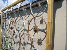 Bicycle wheels trellis