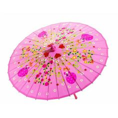 A traditional Chinese bamboo umbrella with delicate patterns for protection from the sun or rain. Bamboo frame with waterproof fabric. Dimensions Ø length Brand Djeco Product Code Barcode 3070900048058