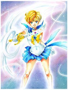 Sailor Moon: Sailor Uranus by *Naschi