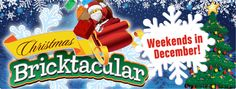 Holiday festivities on Saturdays and Sundays in December during Christmas Bricktacular will feature tons of family fun, included with park admission!