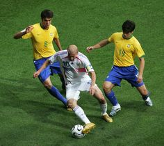 Zinedine Zidane vs Brazil in the 2006 World Cup #greatestever