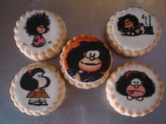Mafalda cookies b-day...