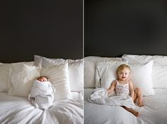 recreate a baby picture. fabulous // rachel thurston