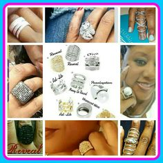 Rings rings and more rings! Shop my website