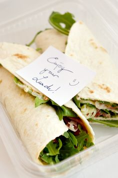 quick & easy lunch wrap