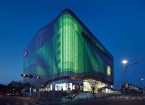 Galleria Centercity Cheonan Ph Kim Yong-kwan. Designed by UN Studio Ben Van Berkel & Caroline Bos