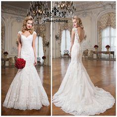 vestidos de novia sencillos corte sirena lisos - Buscar con Google