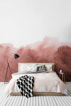 Home accessory: tumblr bedding bedroom tumblr bedroom metallic lamp lamp pillow pastel wall paper