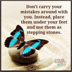 Dont carry mistakes