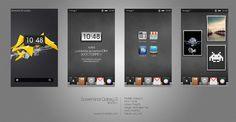 Customisation interface Samsung Galaxy S